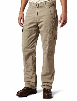 Carhartt Men's Cotton Ripstop Relaxed Fit Double Front Cargo