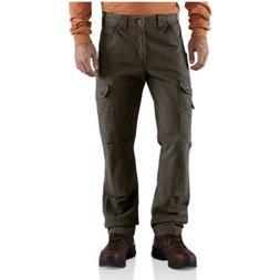 Carhartt Men's Cotton Ripstop Relaxed Fit Work Pant,Dark Cof