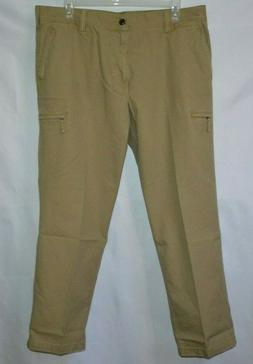 Men's DOCKERS Crossover D3 Classic Fit Flat Front Cargo Pant
