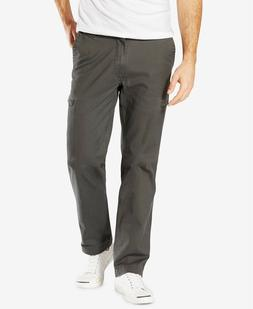 Dockers Men's Dark Gray Utility Cargo Straight Fit Pants