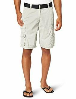 Lee Men's Dungarees Belted Wyoming Cargo Shorts Pants