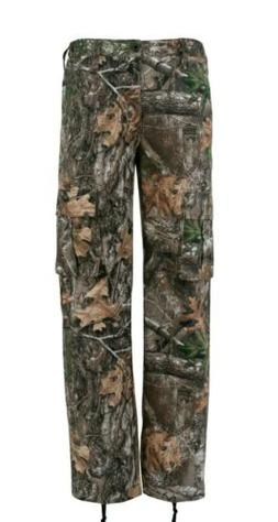 Men's Realtree Edge Camo 6 Pocket Hunting Fishing Cargo Pant