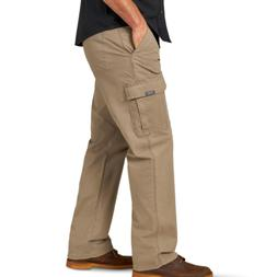 Men's Wrangler Cargo Pants w/ Flex Relaxed Fit Tech Pocket K