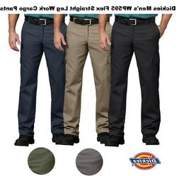 Dickies Men's Flex Regular Fit Straight Leg Work Cargo Pants