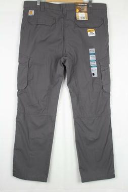 Carhartt Men's Force Tappen Cargo Pants Ripstop Shadow Gray
