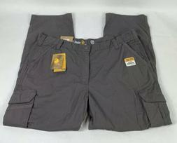 Carhartt Men's FORCE Tappen Cargo Pants Size 42W 32L Grey NW