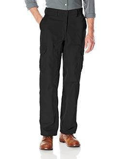 Wrangler Workwear Men's Functional Cargo Work Pant, Black, 4