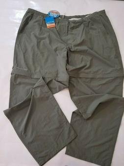 Columbia Men's Hiking Convertible Cargo Pants Nylon Omni-Sha