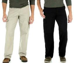 Men's Wrangler Legacy Cargo Pants Relaxed Fit Black OR Khaki