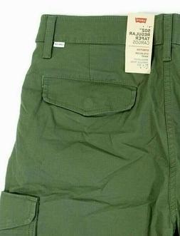 Men's Levi's 502 REGULAR TAPER CARGO STRETCH Pants SIZE: W32