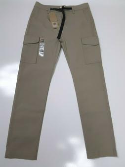 Men's Levis 502 Chino CARGO Regular Jeans W/Belt Actual 31x2