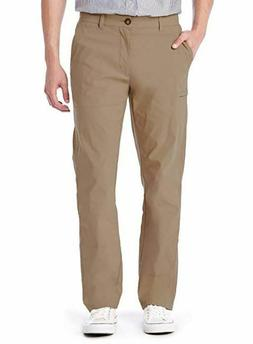UNIONBAY Men's Lightweight Comfort Waist Travel Cargo Chino