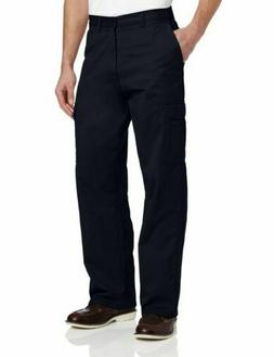 Dickies Men's Loose Fit Cargo Work Pant, Dark Navy, 36x30