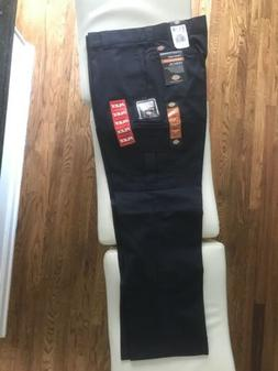 Dickies Men's Navy Blue Regular Fit Straight Leg Cargo Pants