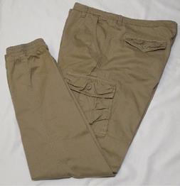 Match Men's Regular Fit Twill Jogger Cargo Pant, 38W x 33L