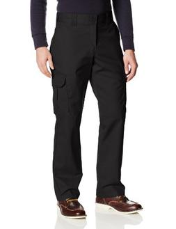 Dickies Men's Regular Straight Stretch Twill Cargo Pant, Bla