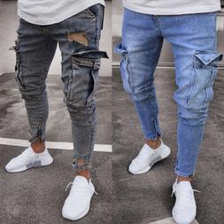 men s ripped skinny jeans destroyed frayed