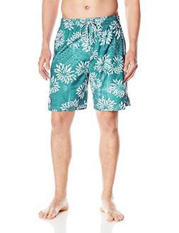 Drift Men's Riviera Swim Trunks, Fan Boy Turquoise, Large