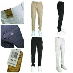 Men's Slim fit Skinny Stretch Cargo Pants Skinny Fit Fashion