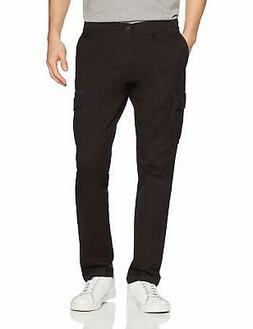 Goodthreads Men's Slim-Fit Vintage Cargo Pant, Bla - Choose