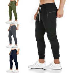 Men's Slim Pocket Urban Straight Leg Trousers Casual Pencil