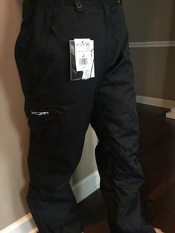 ARCTIX MEN'S SNOW PANTS CARGO SKI SPORTS SNOWBOARD BLACK Lar