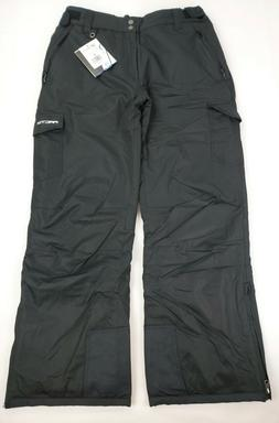 Arctix Men's Snow Sports Cargo Pants, Black, Large, 1960-00-