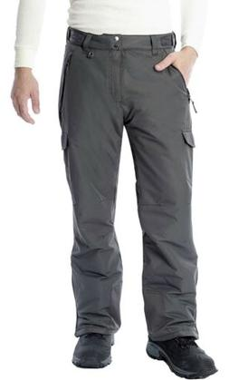Arctix Men's Snow Sports Cargo Pants, Medium , Charcoal