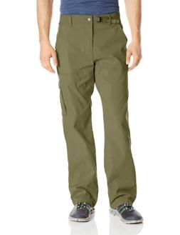 "prAna Men's Stretch Zion 30"" Inseam, Cargo Green, 34"