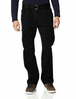 UNIONBAY Men's Survivor Iv Relaxed Fit Cargo Pant-+BELT 32*3