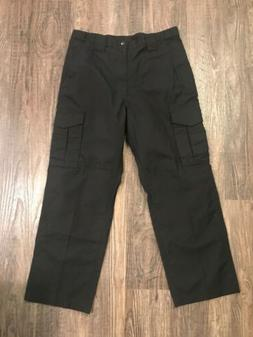 Men's Propper Tactical Cargo Black Uniform Utility Pants Rip