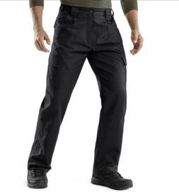 CQR Men's Tactical Cargo Water Repellent Pants TLP106 Black