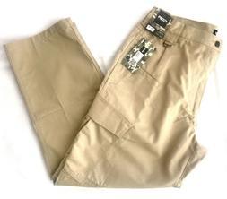 CQR Men's Tactical Pants, Cargo Pants, Khaki, 38x30