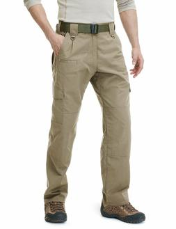 CQR Men's Tactical Pants Lightweight EDC Assault Cargo TLP10