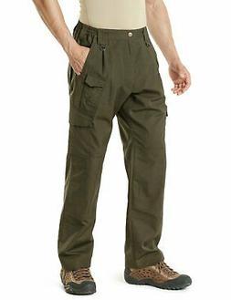 CQR Men's Tactical Pants Lightweight EDC Assault Cargo, Dura