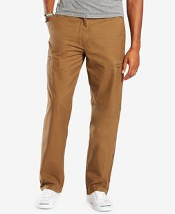 Dockers Men's Tobacco Utility Cargo Straight Fit Pants