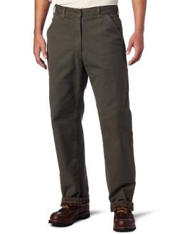Carhartt Washed-Duck Work Dungaree - Flannel-Lined Pant - Me