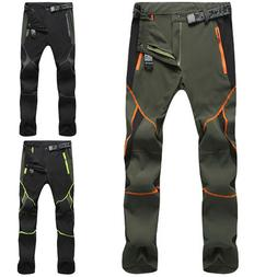 Men's Waterproof Tactical Cargo Pants Outdoor Hiking Climbin