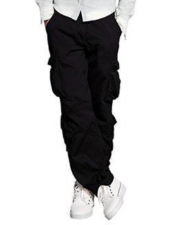 men s wild cargo pantsblack 36