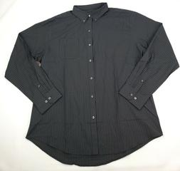 Van Heusen Men's Wrinkle Free Twill Long Sleeve Button Down