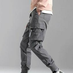Men Summer Overalls Trousers All-match Korean Youth Sport Ca