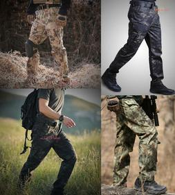 Men Tactical Army Cargo Pant Combat Outdoor Hiking Hunting T