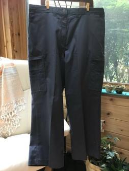 Dickies Men's 100% Cotton Navy Blue Cargo Pants, Sz 40-30,