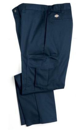 Dickies Occupational Workwear 2112372NV 30x34 Polyester/ Cot