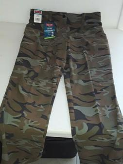 Wrangler Men's 34 x 32 Pants Camo Straight Flex Fit Cargo
