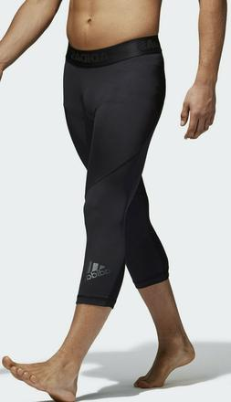 Adidas Men's Alphaskin Sport 3/4 Compression Tights Climac