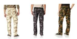 SOUTHPOLE Mens Basic Camouflage Camo 6 Pocket Cargo Pants pi