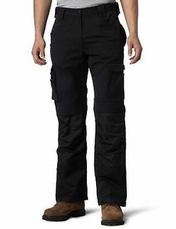 Caterpillar Mens Black Size 38X30 Cargo Trademark Pants Stre