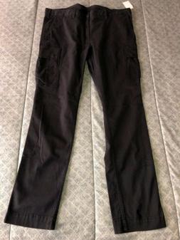 Polo Ralph Lauren Mens Black Slim-Fit Stretch Casual Cargo T