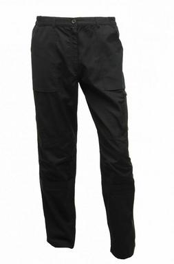Regatta Mens Black Workwear Action Trousers TRJ333 30 Inch W